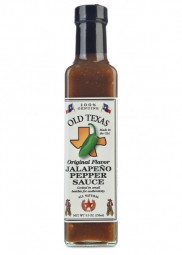 Old Texas Original Flavor Jalapeno Pepper Sauce