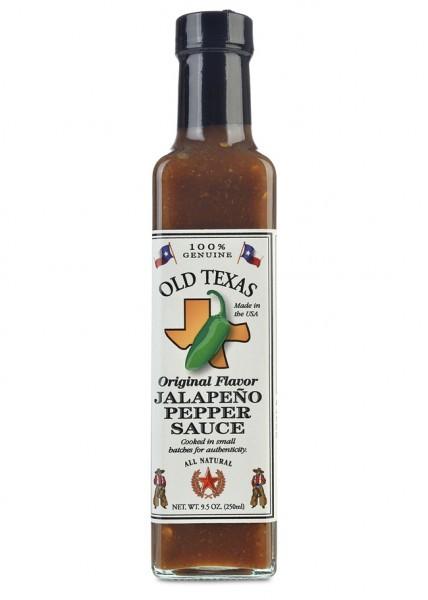Old Texas Original Flavor Jalapeno Pepper Sauce