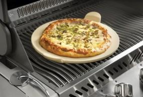 PRO Pizzastein mit Schneideroller