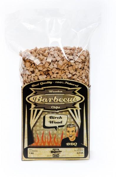 Wood Smoking Chips Birch - Birke