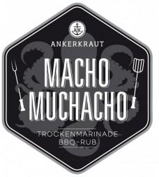 Macho Muchacho - Texmex BBQ-Rub Tüte, 250 Gramm
