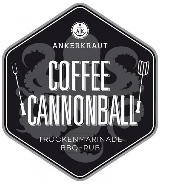 Coffee Cannonball / Kaffee & Kakao BBQ-Rub Tüte, 250 Gramm