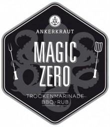Magic ZERO - Rub OHNE ZUCKER Tüte, 250 Gramm