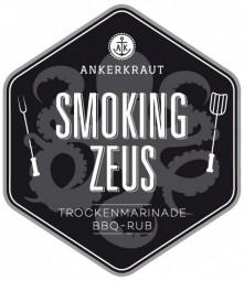 Smoking Zeus - Gyros BBQ-Rub Tüte, 250 Gramm