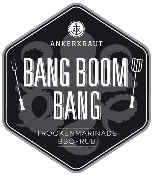 Bang Boom Bang BBQ Rub Tüte, 250 Gramm