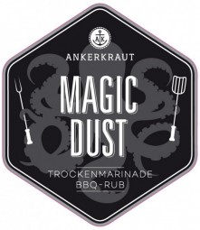 Magic Dust, BBQ-Rub Tüte, 250 Gramm