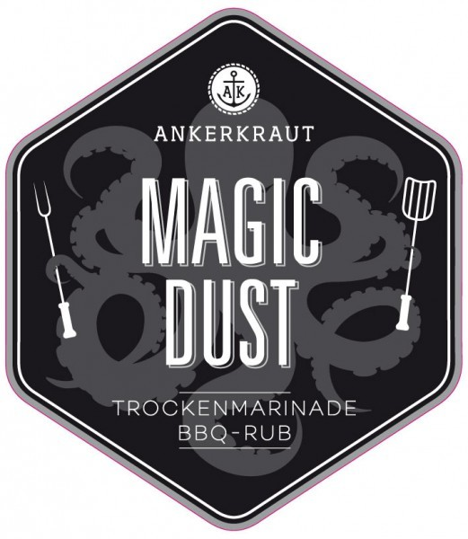 Magic Dust, BBQ-Rub Tüte, 250 Gramm