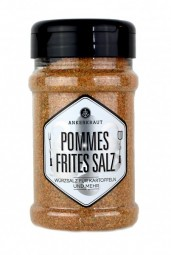 Pommes Frites Salz im Korkenglas, 135 Gramm