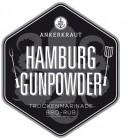 Hamburg Gunpowder, BBQ-Rub, 170gr im Streuer
