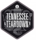 Tennessee Teardown, BBQ-Rub, 200gr im Streuer