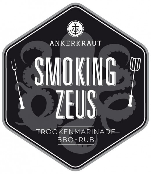 Smoking Zeus, BBQ-Rub, 170gr im Streuer