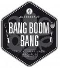 Bang Boom Bang, BBQ-Rub, 200gr im Streuer