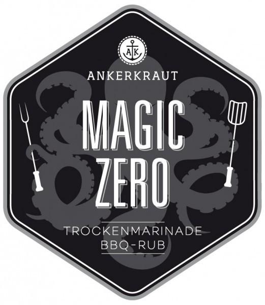 Magic Zero, BBQ-Rub, 200gr im Streuer