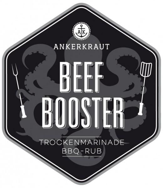 Beef Booster, BBQ-Rub, 200gr im Streuer