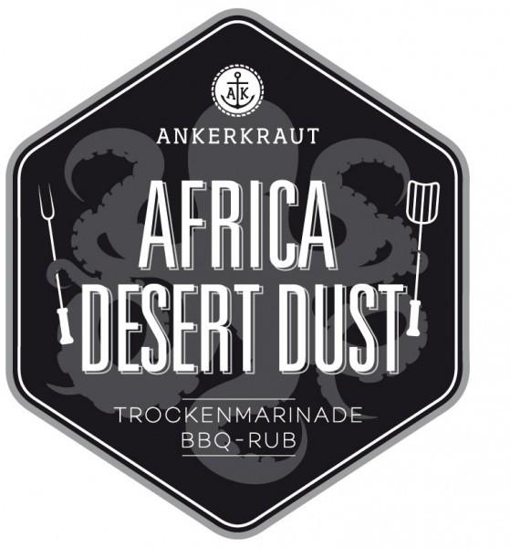 Africa Desert Dust, exotischer BBQ-Rub Tüte, 250 Gramm