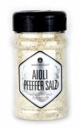 Aioli-Pfeffer Salz, Salzmischung, 310gr im Streuer