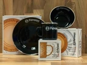 Petromax Frühstücks-Set (schwarz)
