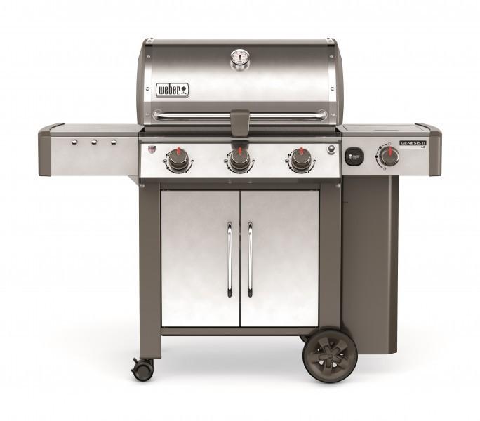 Genesis® II LX S-340™ GBS™, Edelstahl