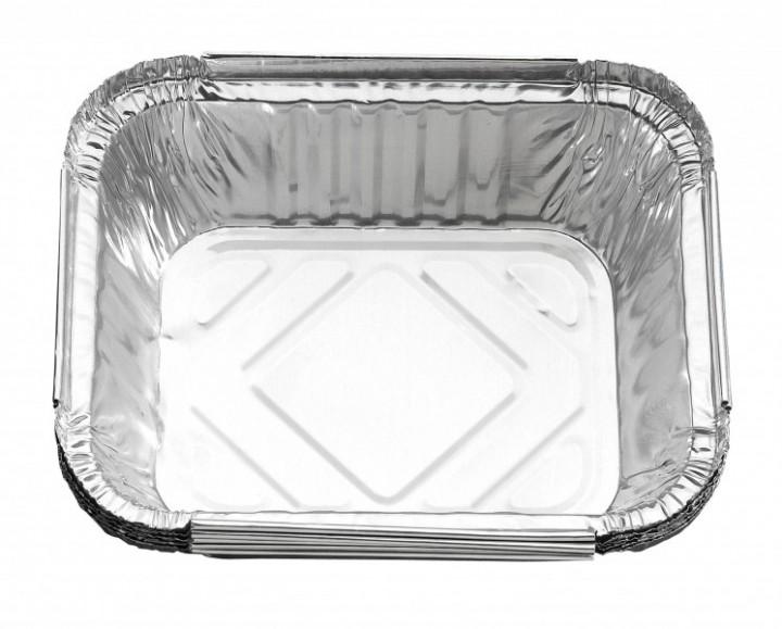 5x Alu-Fettauffangschalen 14,7x12,2cm