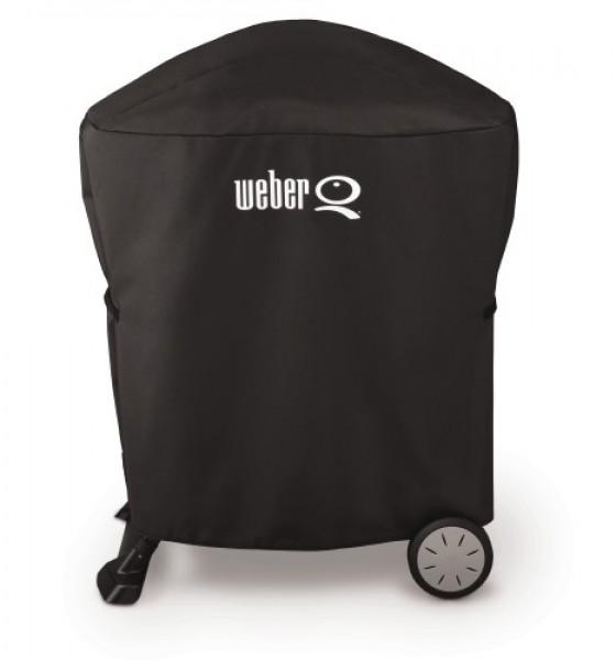 Abdeckhaube Premium für Weber Q 100/1000 und Weber Q200/2000 mit Rollwagen oder Stand