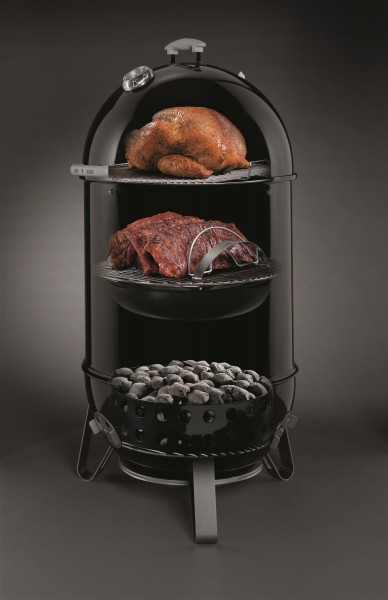 Smokey Mountain Cooker Black 57 cm