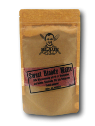 Sweet Bloody Melly Rub 250 g Beutel