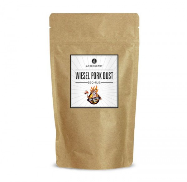 Ankerkraut BBQ-Rub Wiesel Pork Dust im Beutel 250g