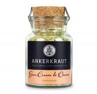 Ankerkraut Sour-Cream & Onion im Korkenglas 90g