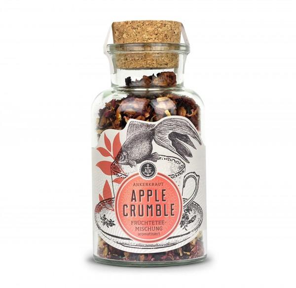 Ankerkraut Apple Crumble, Früchtetee im Korkenglas 95g