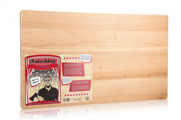 Axtschlag Schneidebrett XXL - Cut & Decor, 700 x 400 x 25 mm (Kirschholz)