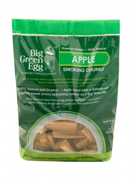 Big Green Egg Holz Chunks Apfel