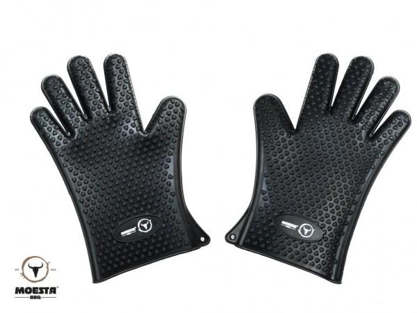 Moesta BBQ MeatGloves Gr. XL - Silikon Grillhandschuhe: Gr. XL (1 Paar)