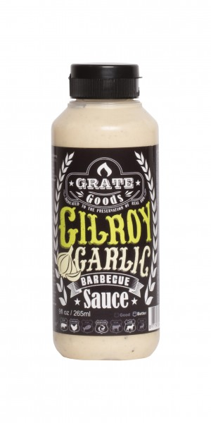 Grate Goods Gilroy Garlic Barbecue Sauce (klein) 265ml