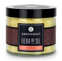 Ankerkraut Fleur de Sel - Safran im Tiegel 160g