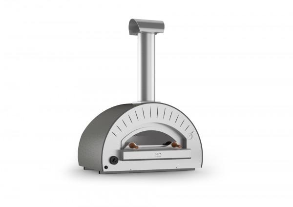 Alfa Pizza Pizzaofen Dolce Vita mit Stand (grau)