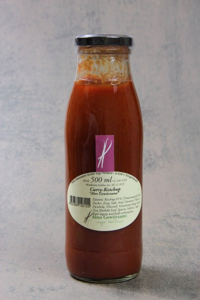 Altes Gewürzamt - Curry-Ketchup (500ml)