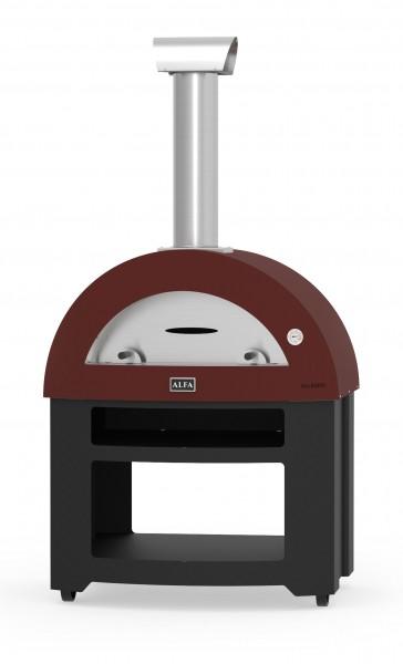 Alfa Pizzaofen Allegro mit Stand (rot)