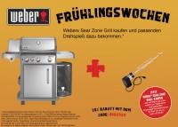 Weber Spirit S-330 Premium GBS Gasgrill, Edelstahl