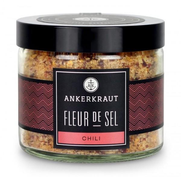 Ankerkraut Fleur de Sel - Chili im Tiegel 150g