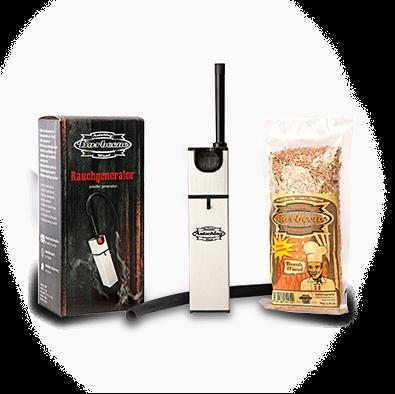Axtschlag Rauchgenerator