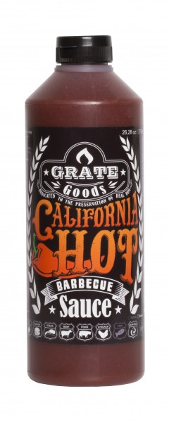 Grate Goods California Hot Barbecue Sauce (groß) 775ml