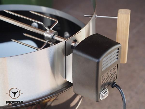 Moesta BBQ Rotisserie Set mit Batteriemotor - für: 47 und 50 cm Kugelgrill