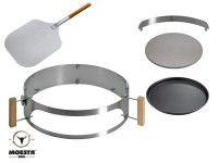 Moesta BBQ Smokin' PizzaRing - Pizza-Set 57cm