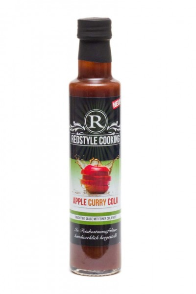 Redstyle Cooking Apfel Curry Cola BBQ Sauce 250ml