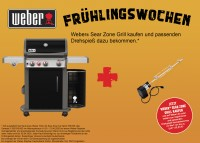 Weber Spirit E-330 Premium GBS Gasgrill, Black Modell 2020