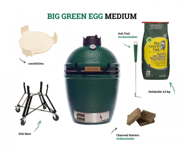 Big Green Egg Medium Starter-Paket