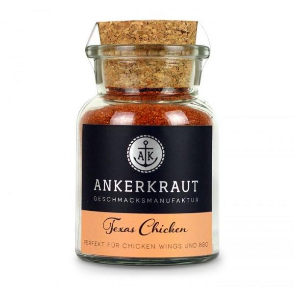 Ankerkraut BBQ-Rub Texas Chicken im Korkenglas 95g