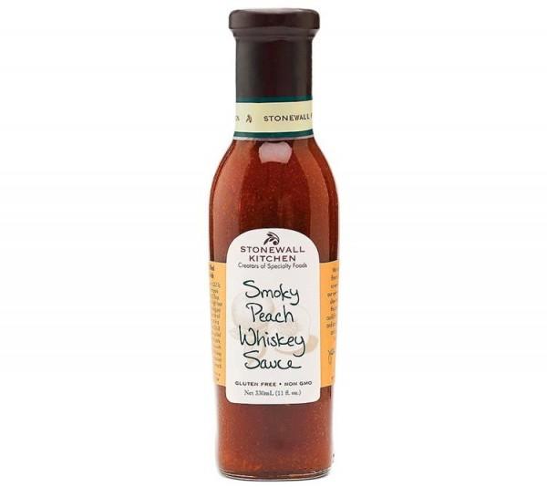 Stonewall Kitchen Smoky Peach Whiskey Sauce 330ml