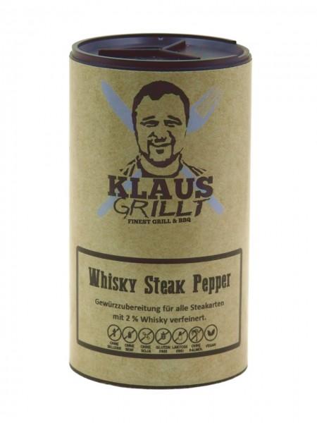 Klaus Grillt Whisky Steak Pepper im Streuer 100g