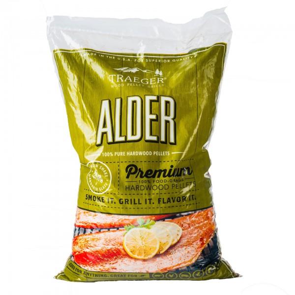 Traeger Pellets Alder (Erle) - 9kg Beutel